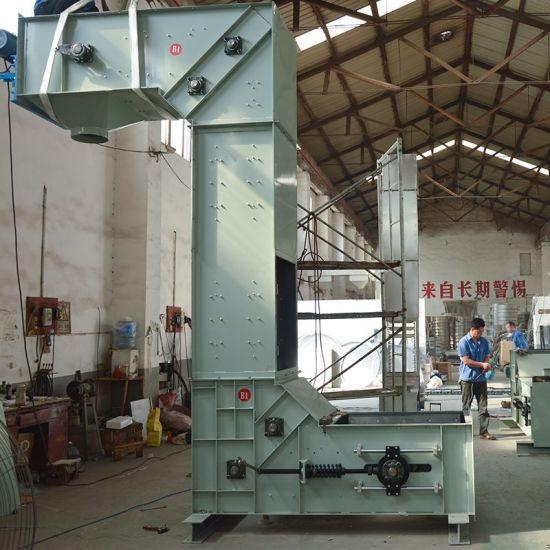 Silica Sand Lifting Z Type Bucket Conveyor