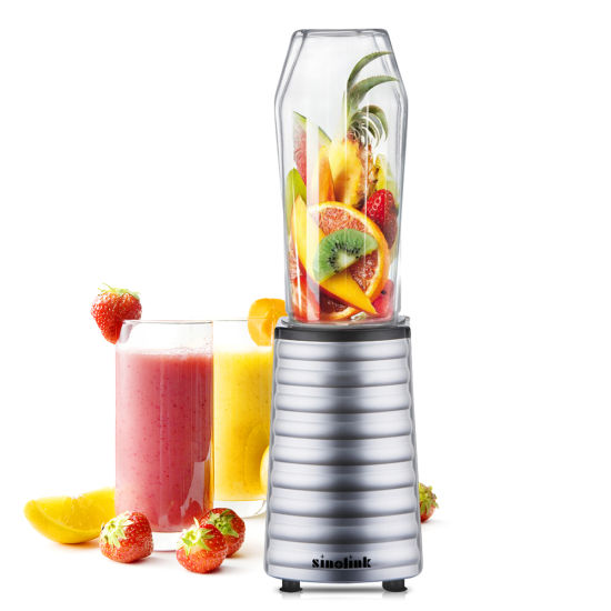 Portable Personal Blender with BPA Free Bottle and Drinking Lid