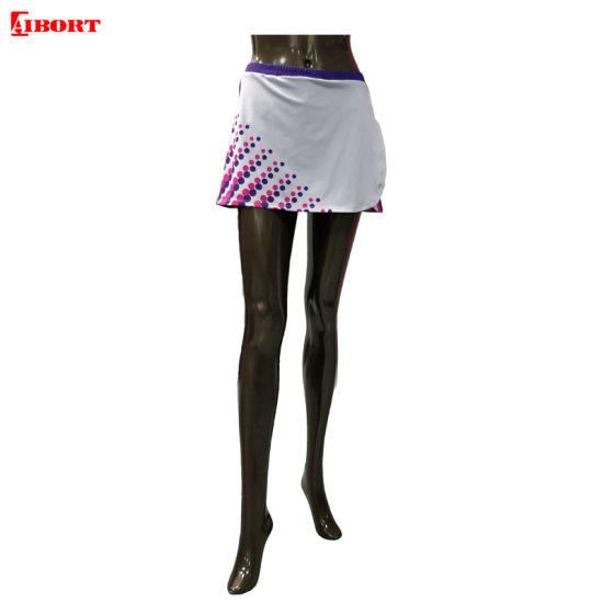 Aibort Sublimation Fashion Tennis Skirts Sport Netball Skirts