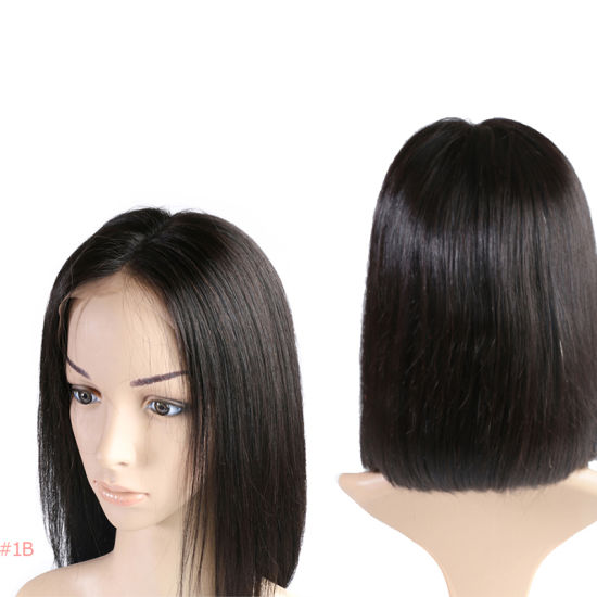 China Angelbella 13x6 Lace Front Human Hair Short Bob Wigs 8 14 180 Density Straight Brazilian Remy Hair Wig China 180 Density Frontal Lace Wig And Mink Brazilian Frontal Lace Wig Price
