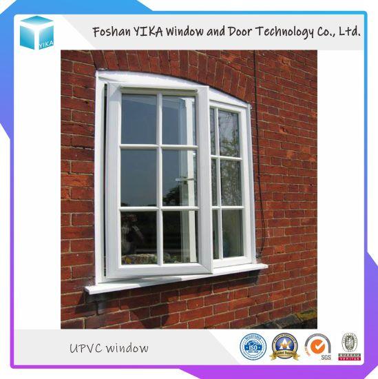 Customized Design UPVC/ PVC/ Vinyl Profile Hurricane Impact Windows
