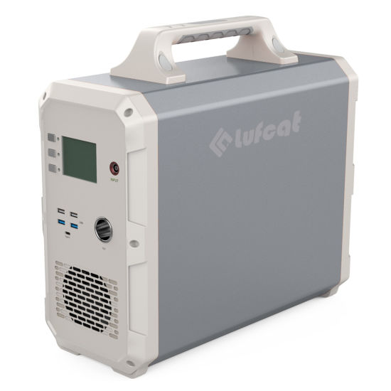 Luki1500 Extra Capacity Solar Generator Portable Power Station 1500wh for Fire Station Logistic Center and Other Mobile Power Unit Applications