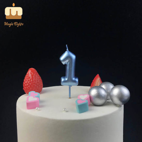 Incredible China Blue Number 1 Birthday Cake Candle For Party China Candle Personalised Birthday Cards Akebfashionlily Jamesorg