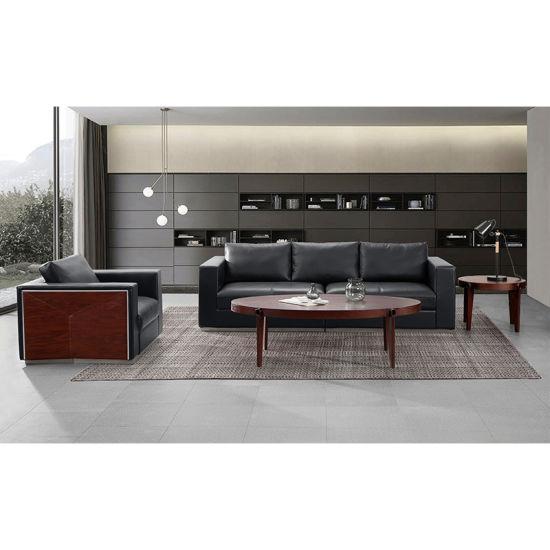 Colors Executive Leather Office Sofa