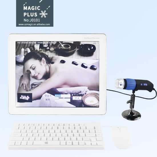 Best At Home Skin Tightening Devices 2020.2020 Popular Beauty Equipment Portable Skin Analysis Test Machine