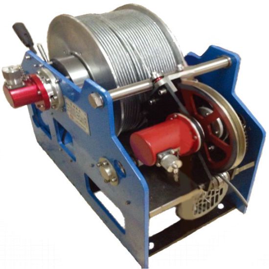 Hydraulic Logging Winch Geophysical Long Cable Winch, Cable Pulling Winch Machine, Well Logging Winch and Deep Borehole Winch