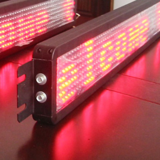 P12 Scrolling Text Red LED Bus Sign