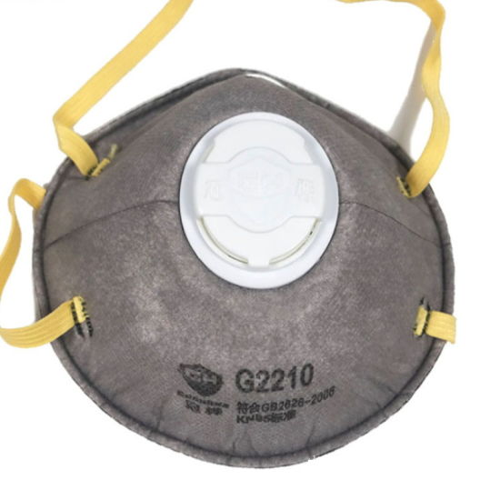 N95 Valve Respirator Virus Protective Mask pictures & photos