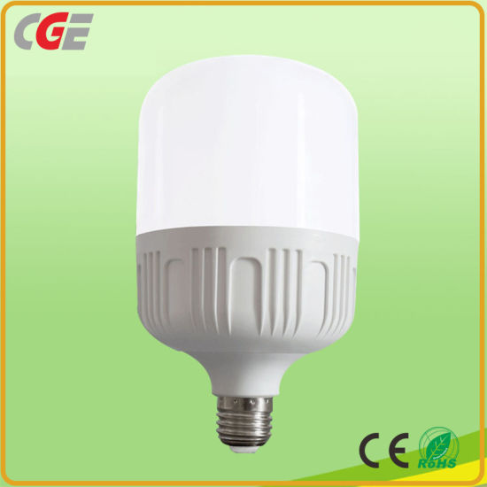 Factory Price E27/B22 5W/9W/13W/18W/28W/38W/48W AC85-265V Constant Current LED T Shape Light Bulb