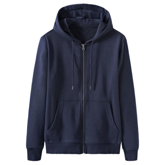 Wholesale Men's Long Sleeve Fashion Hoodie Jacket