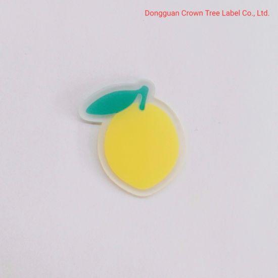 Lemon Transparent PVC Label