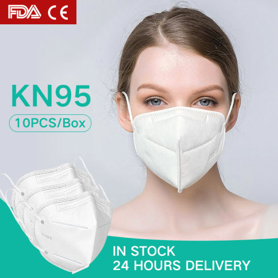 Kn95 Disposable 4-Ply Non-Woven Virus Protective Mask with Earloop
