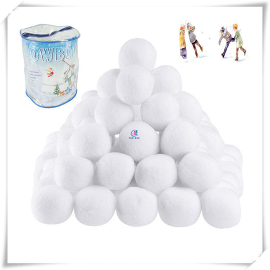 Diameter 7cm Artificial Snowball for Decoration and Indoor Fight pictures & photos