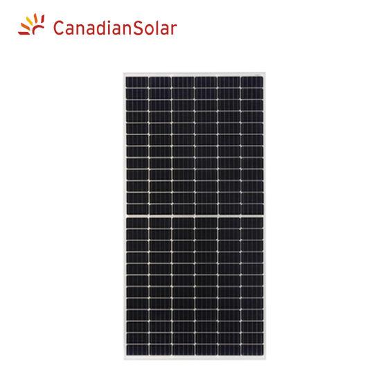 Original Canadian Solar Half Cell Mono 395W 390W 385W 380W Solar Panel High Efficiency