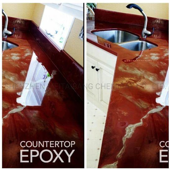 China Concrete Countertop Epoxy