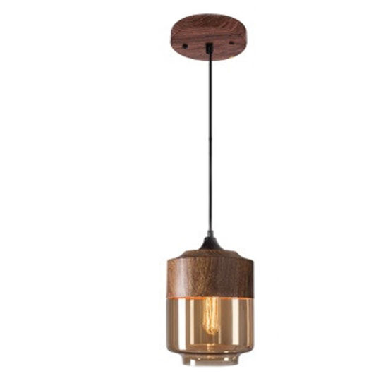 Modern Chandelier Lighting with Wood Color for Home Decoration Light