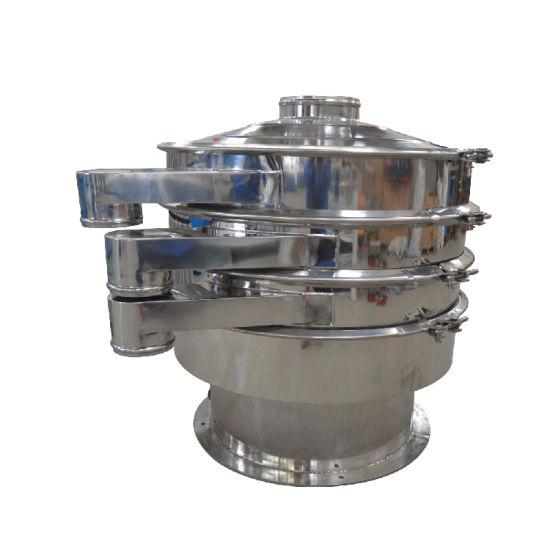 High Precision Flour Beans Milk Powder Rotary Vibrating Screen Sifter