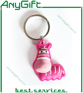 PVC Key Chain with Customized Shape and Logo pictures & photos