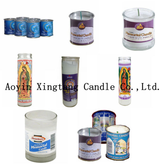 Memorial Candle 1day Tin Candle 7days Candle Jewish Candle pictures & photos