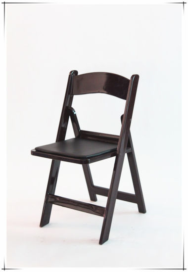 China Manufacture White Event Used Resin Foldable Chair On Sale