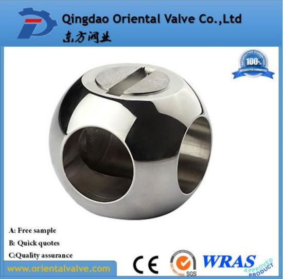 Low Price 1/2 304 Stainless Steel Balls, Worm Gear Ball Valve, pictures & photos