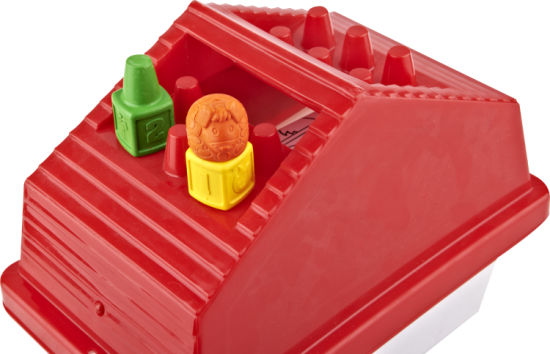 China House Shaped Box 3d Crayon Gift Set For Drawing Painting