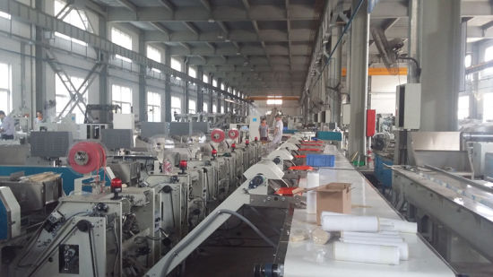 Automatic Two Belt Strapping Packing Machine for Spaghetti and Pasta pictures & photos