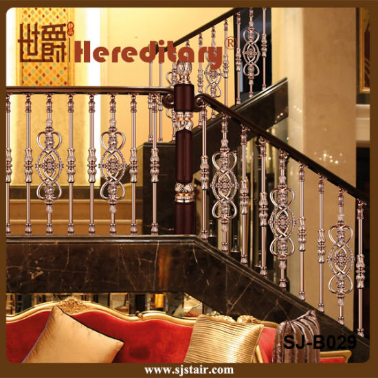 Modern Design Stair Aluminum Railing for Porch Indoor (SJ-B029) pictures & photos