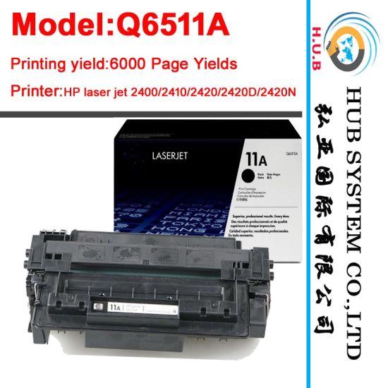 Goverment Tender for HP Toner Q6511A /Q6511X (Black laser cartridge)