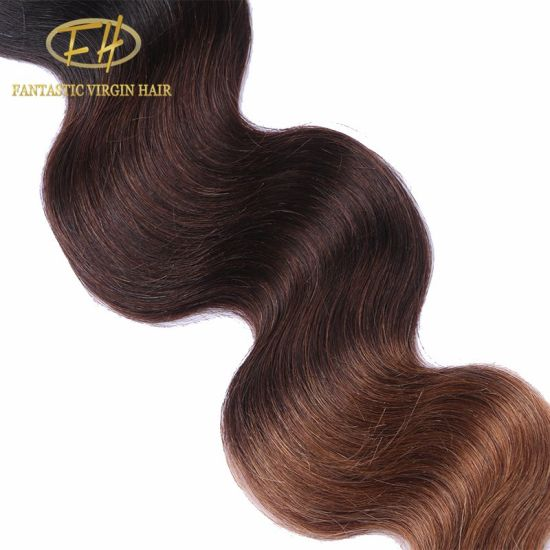 100% Brazilian/Indian Virgin/Remy Human Hair Weft with Cuticle Aligned
