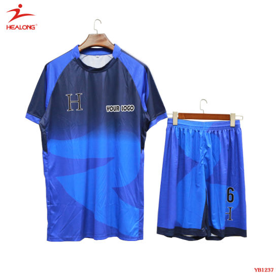 9a7375cc8 China Sublimation Custom Football Shirt Maker Soccer Jersey - China ...