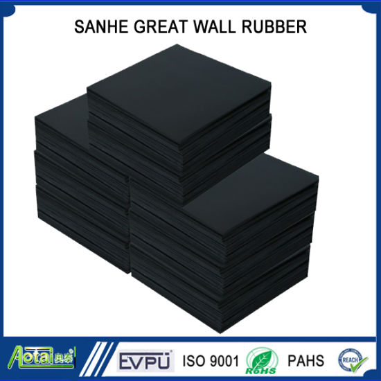 Fire Proof and Flame Retardant Rubber Sheet/EPDM Rubber Sheet pictures & photos