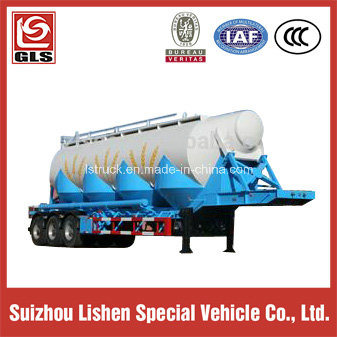 Big Volume Tri-Axle Carbon Steel Tanker Semi Trailer pictures & photos