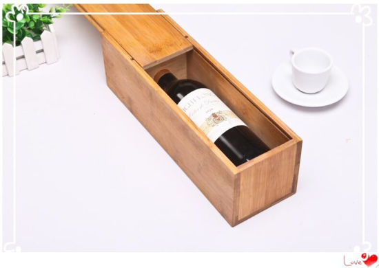 Eco-Friendly Natural Wine Bottle Case