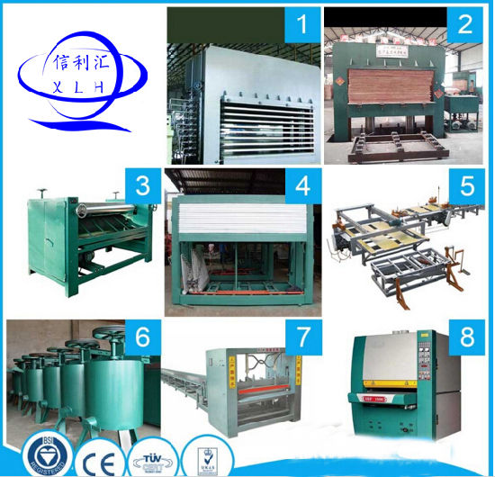 Plywood Production Line Making Machine pictures & photos