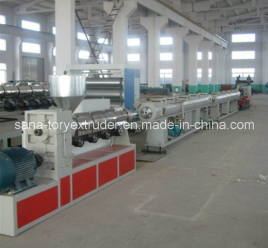 Machine 16-110mm PP-R Plastic Pipe Extrusion Production Line pictures & photos