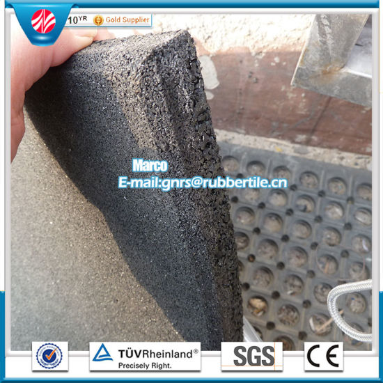 Wearing-Resistant Rubber Tile Rubber Factory Direct Outdoor Rubber Tile pictures & photos