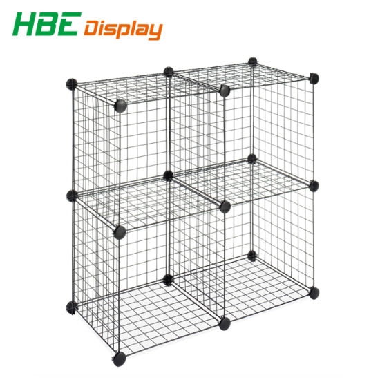 China Grid Wire Modular Shelving and Storage Cubes - China Stacking ...