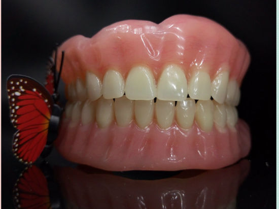 Full Denture with Acrylic Tooth Removable Denture From Shenzhen Minghao Dental Lab