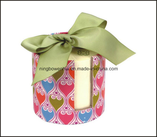 Hot Selling Wholesale Custom Note Pad with Hardbox Holder and Ribbon