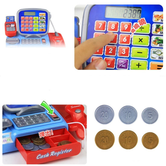 Newest Electric Childrens Cash Register Toy pictures & photos
