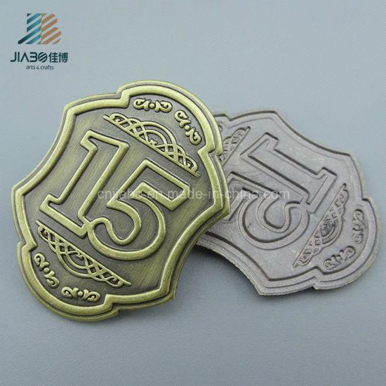 Supply Bronze Alloy Casting Custom Emblem Car Badge for Promotion