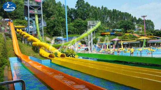 china funny pumping dragon water slide games cool amusement park