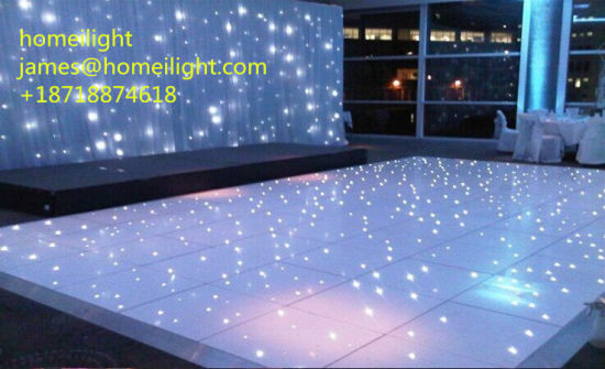 New Designed LED Floor with Starlit Effect, LED Stage Floor Tile pictures & photos