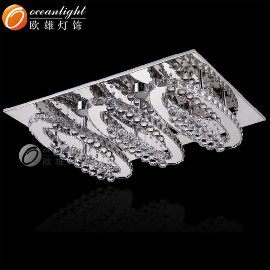 Indoor Chandelier Pendant Ceiling Light with Crystal for Decoration