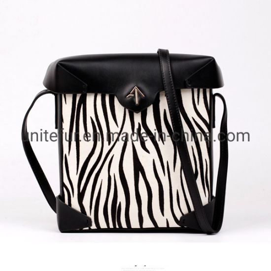 18008cattle/Cow Fur Skin with Hair for Luxury Fashion Backpack School Travel Bag Genuine Leather Raw Materials