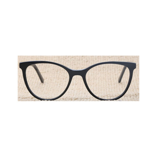 Most Popular E-Commerce Transparent Round Acetate Optical Frame for Men and Women