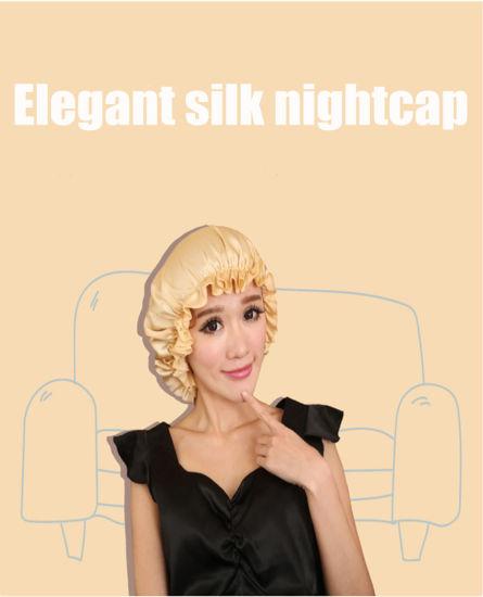 100% Pure Silk Shower and Night Cap