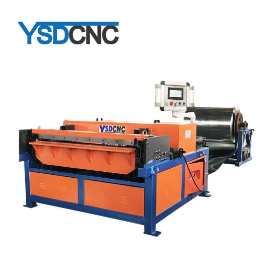 Sheet Metal Square Rectangular HVAC Air Conditioner Auto Duct Manufacture Production Line 3 Tubeformer Air Pipe Making Machine