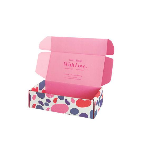 Custom Disposable Flat Folding Paper Storage Packaging Carton Box